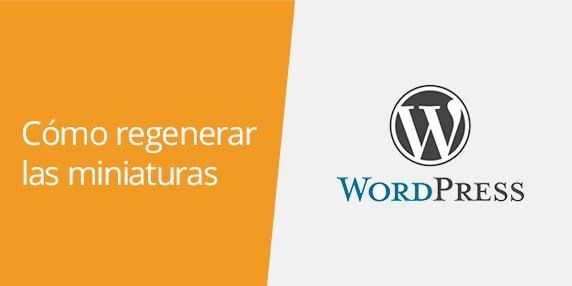 WordPress: Cómo regenerar las miniaturas de las imágenes | Regenerate thumbnails