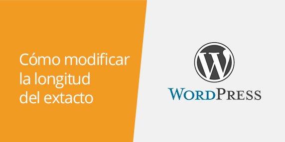 WordPress: Cómo personalizar y modificar la longitud del extracto de los artículos