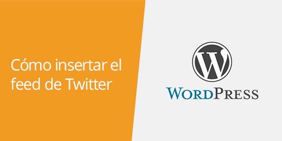 Cómo insertar un timeline de Twitter en WordPress